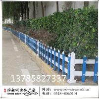 pvc草坪护栏 塑钢护栏园林篱笆社区市政别墅庭院围栏 绿化带pvc护栏