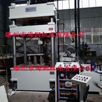 现货供应315T四柱压力机 树脂井盖成型机 SMC电表箱模压油压机