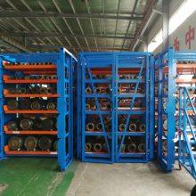 江苏石化企业存储设备 抽屉式管材存放货架 专业棒料存放仓库 抽屉货架