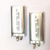 汽车导航仪MP3MP4MP5蓝牙3.7V聚合物锂电池801738/550mah