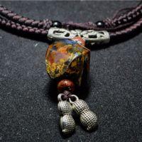 美丽与尊贵的象征纳米比亚进口天然彼得石吊坠包邮