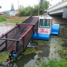 济宁水面割草船 收割水浮萍设备原理