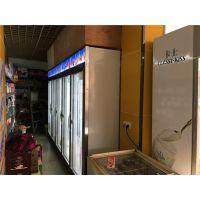 广州厂家直销超市便利店饮料展示柜商用立式风冷无霜三门冰柜超市冷藏饮料柜