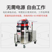 厨房吸残渣吸水油污专用1000W大吸力威德尔电瓶吸尘器