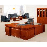 朗哥家具 实木大班台 老板桌 办公桌 广东办公家具厂家直销15