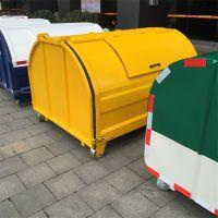 沧州志鹏专业供应 不锈钢冷轧板3立方垃圾转运箱 环卫垃圾转运箱 可定做