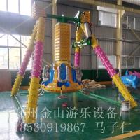 郑州金山JS-XBC-07迷你7座小摆锤游乐设备 在摇摆中寻找乐趣