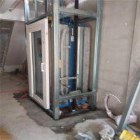 这样做的个人电梯玻璃透明别墅梯家庭用电梯真是好看-山东欣达xd-2