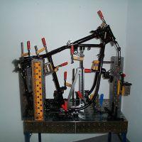 机械手焊接平台三维组合焊接工装夹具万能多孔柔性平台1000*800