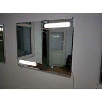 智能LED防雾镜 酒店卫浴灯镜 放大镜 可定制安装