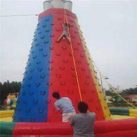 洛阳万达广场充气游乐场跳跳床商场景区加厚PVC材质充气攀岩大型游乐设备