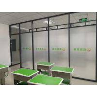 天津办公区透明玻璃隔断多少钱一平米