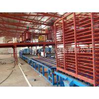 山东济南创新建材集装箱地板生产线机械机器