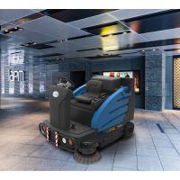 驾驶式电动扫地车容恩R-FQS 小区商场水泥 环氧地坪地面清扫车