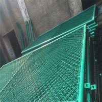 球场围网专用勾花网 耐腐蚀PVC包塑勾花网 煤矿支护网