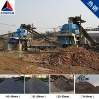 浙江嵊州引进时产150方河卵石沙石生产线