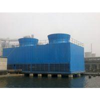 方形冷却塔侧进风节能深水盘 唐山科力玻璃钢冷却塔横流式