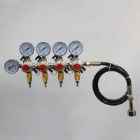 卡罗福 啤酒头 分配器 啤酒减压阀 一级减压阀(软管进气四阀)批发