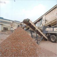 泰安矿山石料碎石机 建筑垃圾移动破碎站优势 碎石机厂家 恒美百特