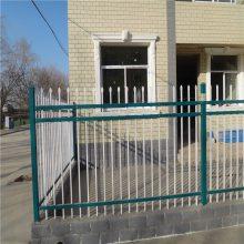 河道防护隔离栏杆 市政围墙护栏厂家 不锈钢围墙护栏图片