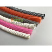 耐高温双拼波纹管 线束保护PA双拼波纹管 阻燃双拼波纹管 深圳诺思WH00870软管
