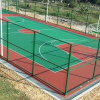 学校标准球场地面施工 承接丙烯酸球场地面工程 18个球场同时施工