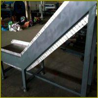 不锈钢链板提升输送机山东乾德厂家质量保障 价格实惠