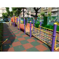 幼儿园室外儿童游乐园滑梯体育健身运动防摔防滑软橡胶地垫安全垫