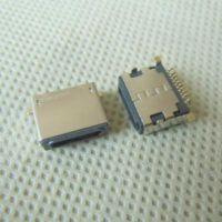 板上10P-SMT苹果母座 iPhone前插后贴母座 IP5-Lightning接口母端
