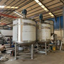 500公斤液体搅拌桶 胶水加热搅拌罐 树脂搅拌桶生产厂家