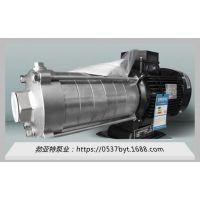 济宁勃亚特厂家直供QDLY浸入式多级不锈钢液下泵