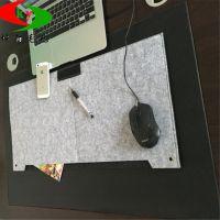 厂家直销简约时尚双层毛毡鼠标垫 超大广告键盘垫 桌垫定制logo