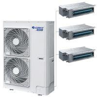 天津格力家用中央空调免费设计65-86平适用一拖三中央空调