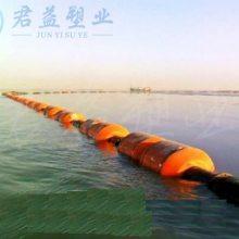 连云港塑料浮体 直径500*800两半浮体