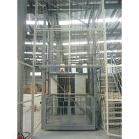 航天轨道式液压升降货梯 室内四层导轨式升降机 上下运送货物液压升降台