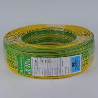 中正电线UL1007#18awg 黄注绿电子线 PVC绝缘电源线