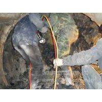 井桩开挖拆除坚硬花岗岩手持式机械液压分裂机推介深凯