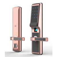 指纹锁市场前景怎么样-智能锁品牌哪个好?比三星指纹锁更安全的GAT超声波智能锁