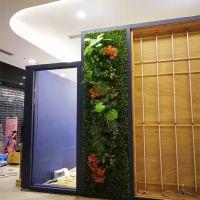 欢迎合作紫萱工艺厂家直销假草仿真叶子藤条植物墙吊顶垂挂绿植景点壁挂绿植艺术绢花绿叶
