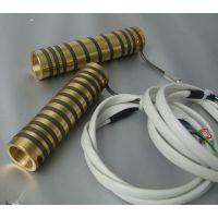 定制KSAN铜套式弹簧加热圈 发黑弹簧电热圈 可内置感温线