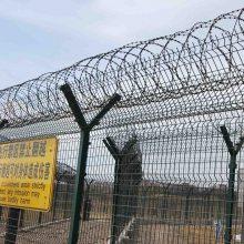 广州部队用热镀锌围栏网 现场施工指导 东莞项目部防爬护栏网