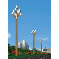 神农架10米12米中华灯 库尔勒民族特色中华灯 科尼星校园高杆灯升降式