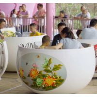 大型游乐设备72人咖啡杯转转杯设备户外游乐场设施家庭游乐项目