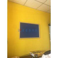 佛山挂式软木板E湛江彩色绒布软木板R学校活动展示墙