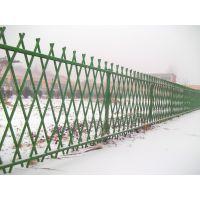 儋州市政仿竹围栏,景观仿竹节栅栏,锌钢河道防护栏Q235HC