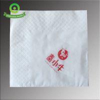 23*23酒店餐巾纸 双层单色印标餐巾纸 原生木浆
