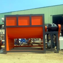 出口全自动干粉砂浆搅拌机 干粉涂料混合机上料包装机成套生产设备