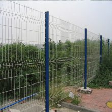 围墙防盗网立柱 广州运动场防护围栏网 阳江绿化带护栏网东坑