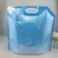 高档防勒手提式包装袋 3/4/5/8L白酒吸嘴自立袋 无菌折叠水袋