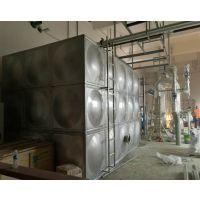 盐城不锈钢组合水箱 304模压板焊接拼装 45立方地下室消防水箱定制